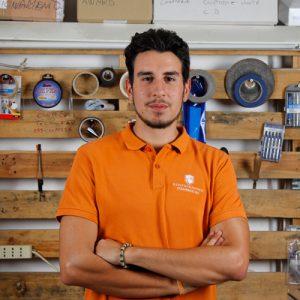 Leonardo Rinaldi, il sales manager di Kentstrapper,l'azienda fiorentina che progetta e produce stampanti 3d