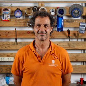 Ugo Cantini, il ceo e co-founder di Kentstrapper,l'azienda fiorentina che progetta e produce stampanti 3d