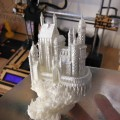 Castello realizzato dalla stampante 3d Galileo Smart