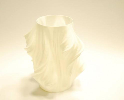Vaso realizzato con la stampante 3d Kentstrapper Galileo Smartup by B-Emme srl