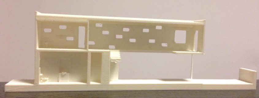 Plastico architettonico realizzato con la stampante 3D Kentstrapper Zero