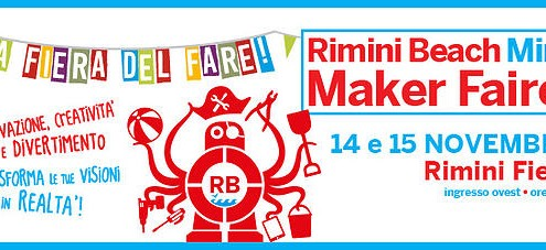 Kentstrapper vi aspetta alla Rimini Beach MIni Maker Faire