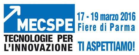 Dal 17 al 19 Marzo 2016 parteciperemo alla fiera MECSPE