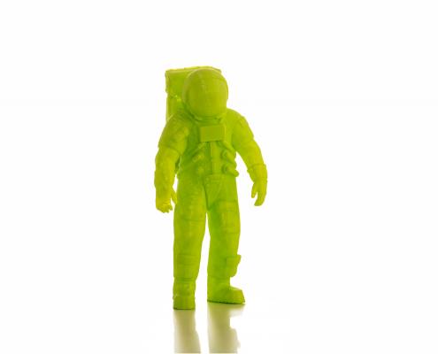 Modello di un astronauta realizzato con la stampante 3D Kentstrapper Verve