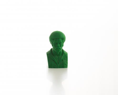 Modello di un busto realizzato con la stampante 3D Kentstrapper Verve
