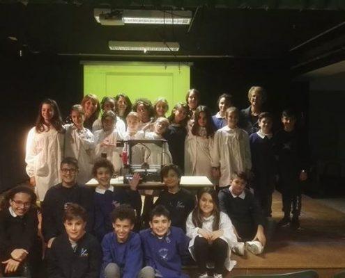 """5 Stampanti 3D Kentstrapper Galileo Smart a 5 Scuole come premio del concorso educativo """"Amici di Risparmio"""""""