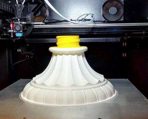 Stampante 3D Kentstrapper Mavis Base Lampada