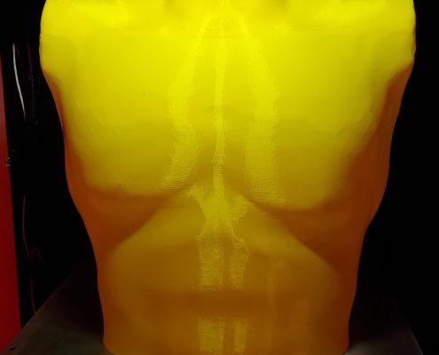 Stampante 3D Kentstrapper Mavis Busto Maschile