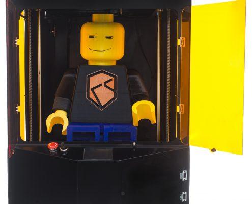 Modello di omino realizzato con la Stampante 3D Kentstrapper Mavis