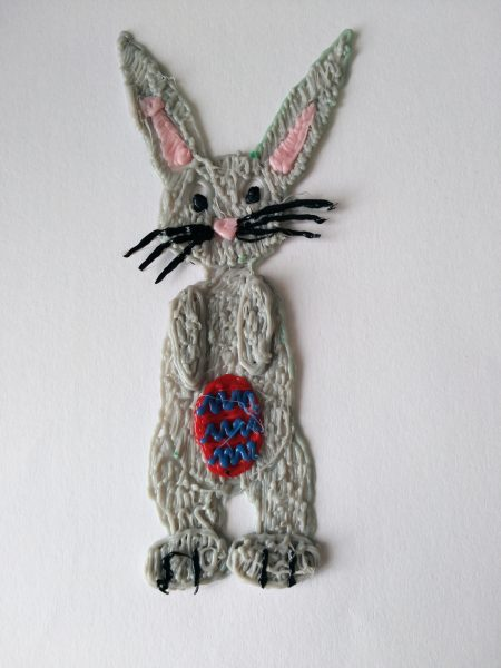 Modello di Coniglio realizzato con la Penna 3D Kentstrapper