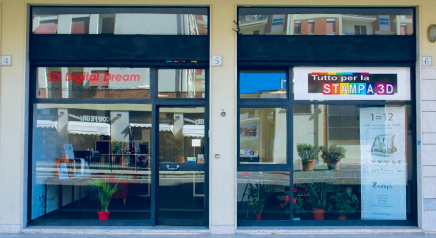 negozio stampa 3d roma