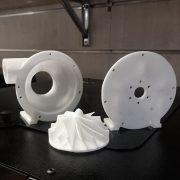 Prototipo di Turbocompressore - Realizzato on stampante 3D Zero