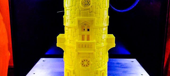 Torre Fantasy per gioco da tavola stampata in 3d