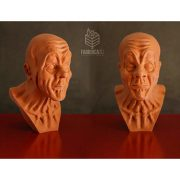 Busto stampa 3d in pla simil terracotta