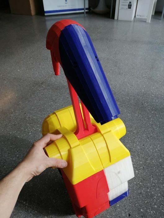 Modello realizzato con la stampante 3D Kentstrapper Mavis