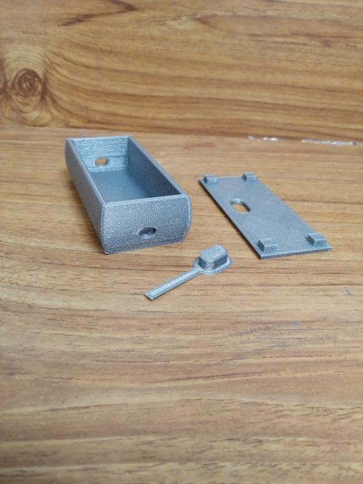 Modello Case Sensori realizzato con la Stampante 3D Verve