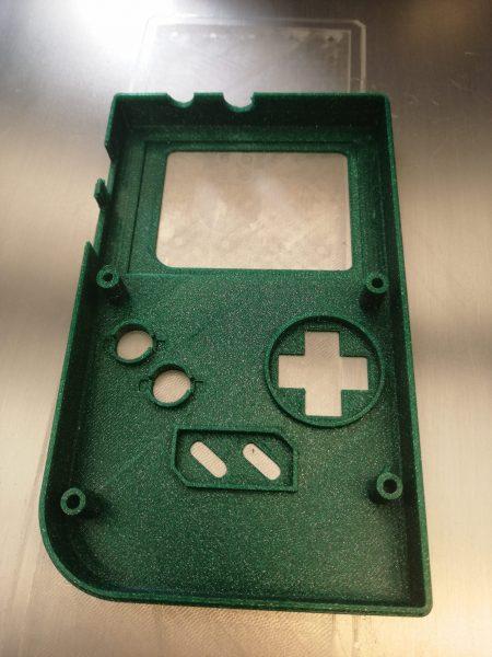 Cover Gameboy realizzato con la stampante 3D Kentstrapper Verve