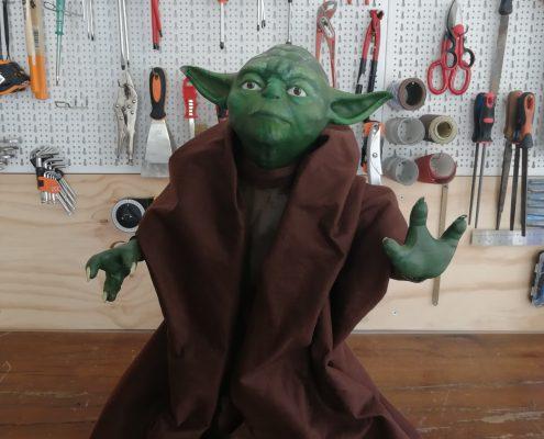 Yoda Lifesize Stampato 3D Kentstrapper