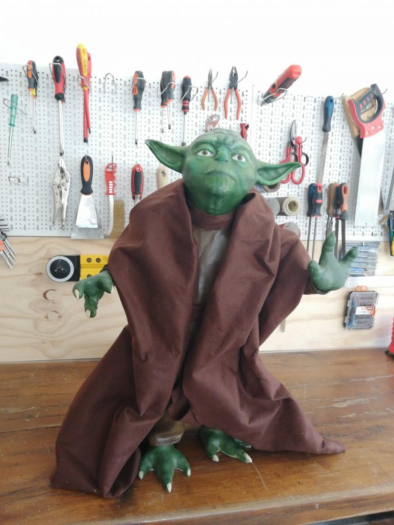 Yoda Lifesize Stampato 3D Kentstrapper2