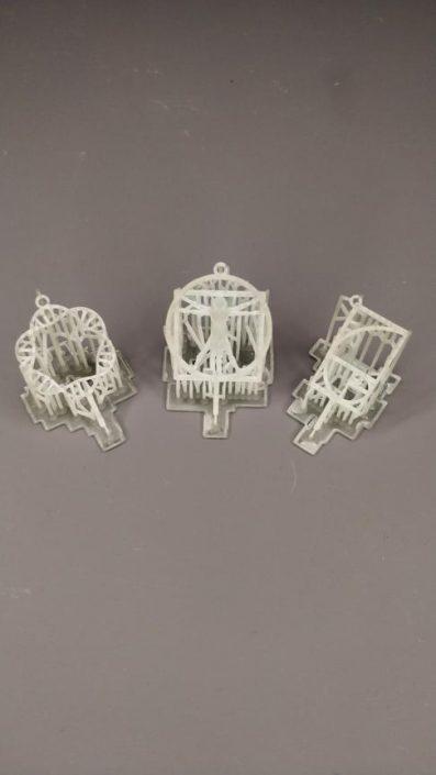 Modello Pendenti stampato con la stampante 3D Kentstrapper Aura
