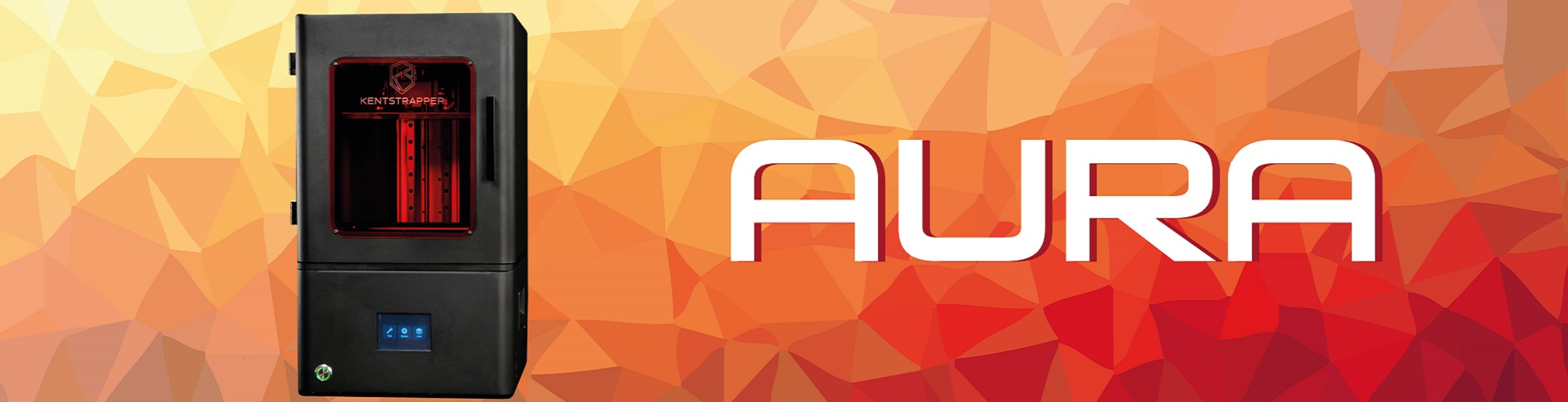 Banner stampante 3D Kentstrapper Aura