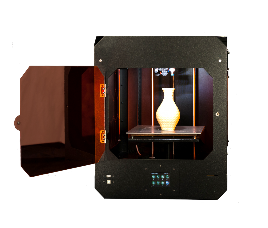 Stampante 3D Verve aperta
