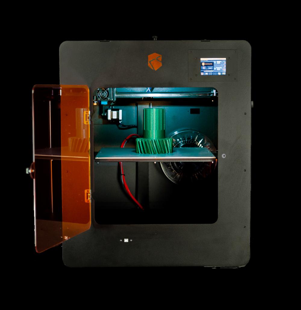 Stampante 3D Zero Kentstrapper aperta