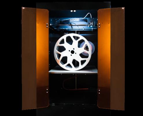 Stampante 3D Mavis aperta